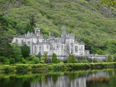 (32)2015年8月アイルランド周遊の旅8日間④アイルランド(コネマラ国立公園 カイルモア修道院 )