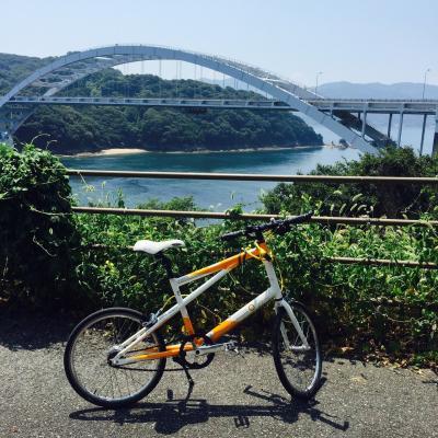 しまなみ海道でサイクリング!
