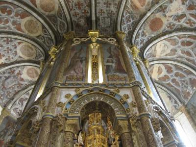 初夏のポルトガル(2) トマールのキリスト教修道院