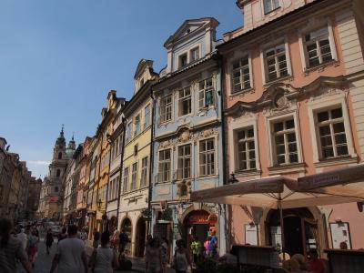 中欧3国の旅 その5 チェスキークルムロフからプラハ街歩き