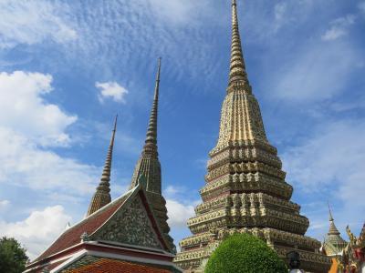 2015年夏休みの旅行は2度目の子連れ海外旅行でタイ・バンコク②~本格的な観光スタート!まずはワット・ポーで寝釈迦仏編~