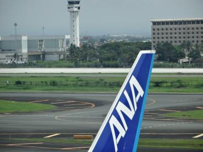ANA NH870便 (マニラ~羽田)快適フライト   - 8月  2015年