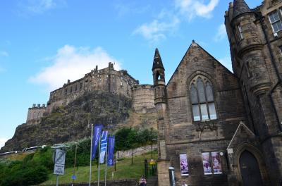 2014年スコットランド旅行① 1日目 エジンバラ