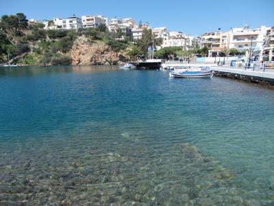 紺碧のエーゲ海に浮かぶ島々を訪ねて 【40】 え?クノッソス宮殿はクローズだとぉ?なら、アギオス・ニコラオスへ行ってみよっ!!