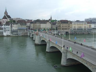 ドイツとフランスとスイスの3国の国境の街 バーゼルを散策 No12