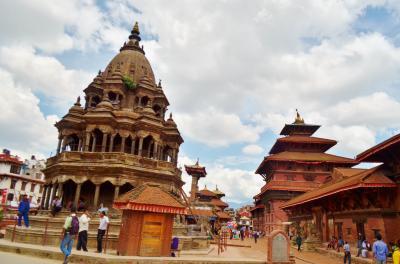 娘と二人で南アジアの旅:4.震災後のネパールの古都、パタンを巡る