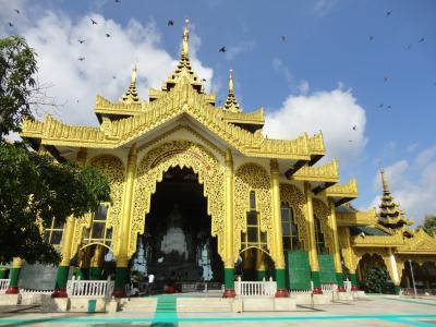 ミャンマーヤンゴンとチャイティヨー(ゴールデンロック)へ 台風の台北乗継も