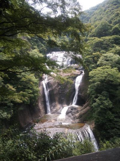 涼を求めてドライブへ・・・袋田の滝&日帰り温泉