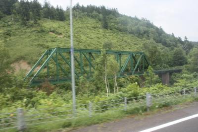北海道旅行記2015年夏(3)続・JR北海道バス深名線乗車・深名線廃線巡り編