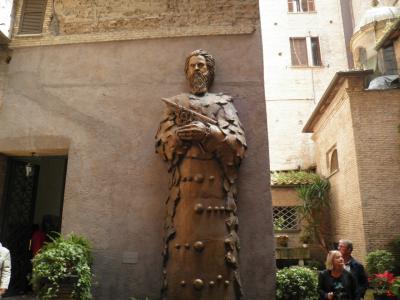 南イタリアとドブロブニク(16) サンタ・マリア・デッラ・ヴィットリア教会からパンテオン、ナヴォーナ広場へ・・・