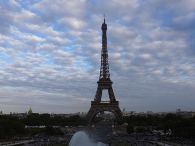 2015年夏 パリ旅行①