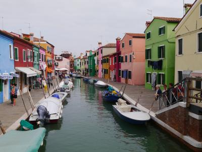 イタリア ベネチア編:ブラーノ島、ムラーノ島、ベネチア本島の船めぐり