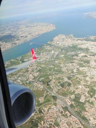 イベリアの大地の上を飛んで、イスタンブール経由で帰国