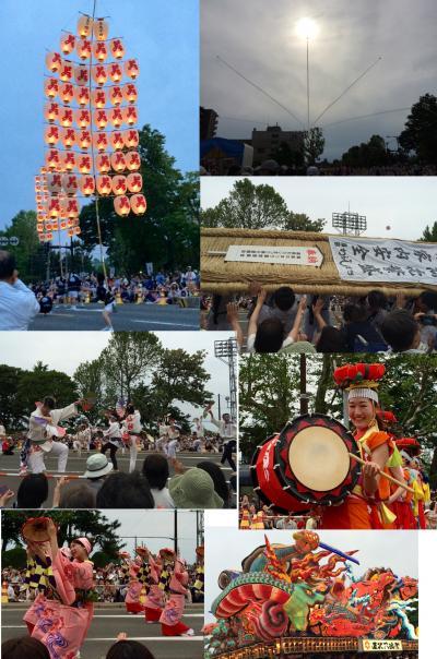 東北六魂祭2015 in秋田 三たび軽自動車で親子旅  六魂祭編