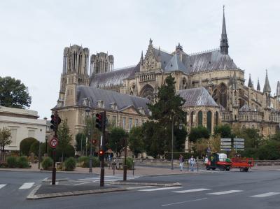 夏休みのフランス旅行(ランス編1)