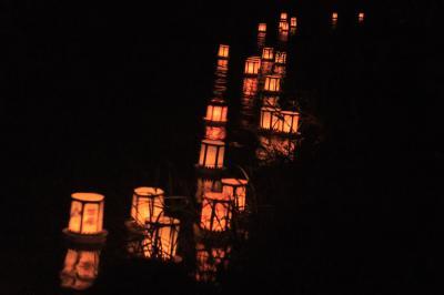 夏の夕べを満喫!!~神奈川県小倉橋灯籠流し~