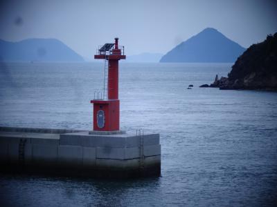 玉野市宇野港 ☆ 瀬戸内海アートの島 ちょこっと直島 ☆ 大平洋の高知・南国へ
