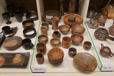 姫路・赤穂から伊部の旅(二日目後半・完)~備前焼って、こんなにきれいだったかなあ。火だすきの茶碗も無事にお気に入りを見つけました~