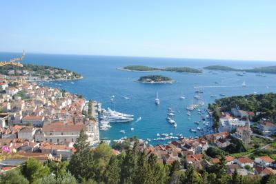 9日間でぐるっとクロアチアを廻ってきました。④フヴァル