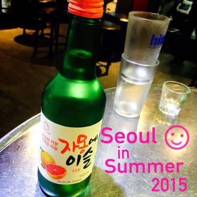 7th Korea 2015☆①初JINAIR!カロスキルshopping巡り&済州オギョプサル&ちょいミーハーcafe♪