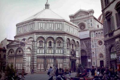 1992年のイタリア(フィレンツェ)