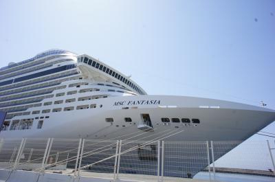 MSCファンタジア号で行く、地中海クルーズ Day1-3 出発~マルセイユ乗船・ジェノバ編