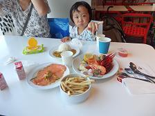 IKEA港北店で妻の買い物&スウェディシュディナー(日本の中の米・中・典3カ国旅行④)