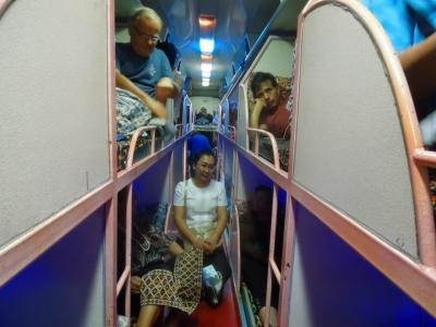 バイクでGO!雨季の南ラオス その11 夜行バスでヴィエンチャンに、そして一旦タイのノンカーイへ