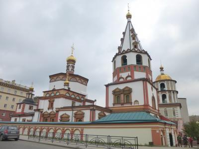 中央アジア3ヶ国の旅(1) 乗継時間にイルクーツク