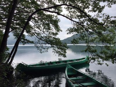 青木湖でカヌーに乗ろう! 【2015年 白馬への旅】