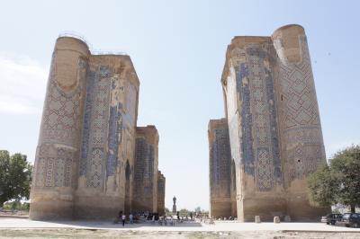 真夏のウズベキスタン7:世界遺産シャフリサーブズ