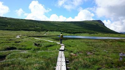 2015 夏の北海道旅行 10日間の旅・後半 白雲岳ー忠別岳往復ー緑岳