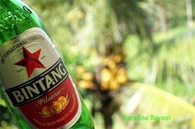 Drink Bintang Beer @Ubud
