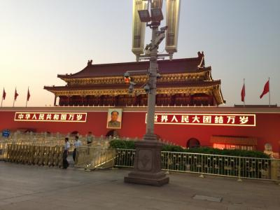 国旗降納見学にて中国人のタフさを垣間見る