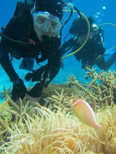 沖縄ダイビング旅行4日目は水納島でダイビング