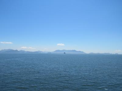 瀬戸内海ぷち旅行  ~空がすばらしく青かったから