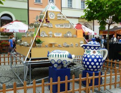 ボレスワヴィエツの陶器祭りに行ってみた