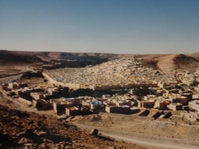 (10)1987年サハラ砂漠縦断 西アフリカと中央アフリカ横断の旅12か国64日間⑨アルジェリア(エルワード ガルダイア)