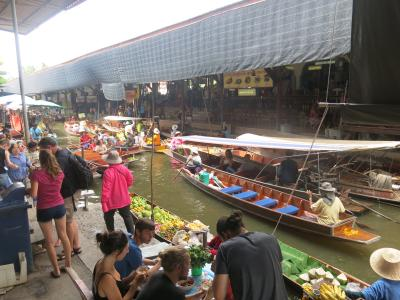 2015年夏休みの旅行は2度目の子連れ海外旅行でタイ・バンコク④~市内を離れて象乗り体験&水上マーケット編~