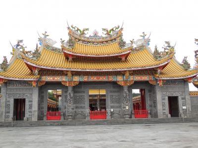 台湾道教寺院の聖天宮に行く