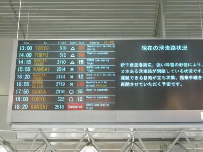 CATS札幌公演初日  冬の札幌をナメテマシタ・・・ ②