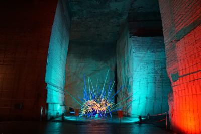 宇都宮から白河までのちょい旅行(一日目)~大谷資料館は巨大な地下神殿。赤青緑のライトアップも演出効果は抜群でしょう。その後は宇都宮の意外なグルメ探訪です~