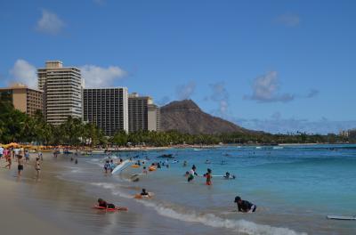 ハワイの休日No.2 : ダイヤモンドヘッドで見る日の出とホノルル散策