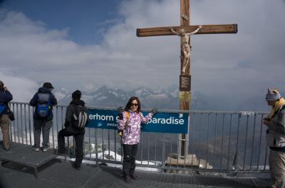 2015年 スイス ハイキングの旅♪⑩ マッターホルン・グレーシャーパラダイスへ