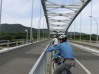 同窓生との3回目のしまなみ海道サイクリング(今治)