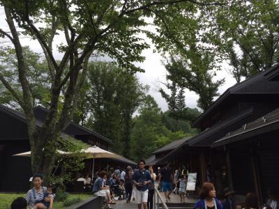 毎年恒例 珍道中。今年は、軽井沢へ。