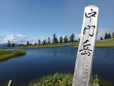 晩夏 会津駒ヶ岳から雲上の楽園中門岳に登る♪ 2日目中門岳縦走そして下山