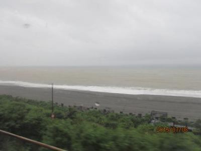 台湾・高雄の4日間(33)山を越えて太平洋へ。