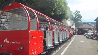 2015年スイス旅行⑨ グリンデルワルト 2日目 ブリエンツロートホルン鉄道