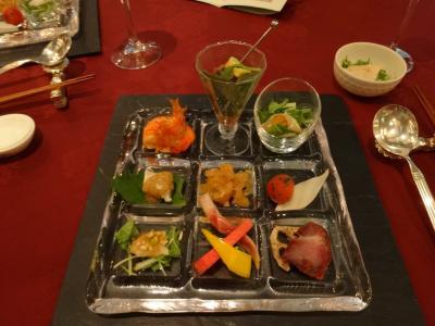 エクシブ蓼科中国料理翠陽の夕食 8月12日